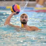 Photo d'un joueur de waterpolo du PAN en pleine action