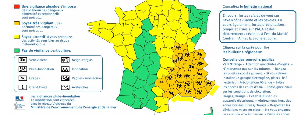 Visuel carte de france avec les Bouches du Rhône en orange
