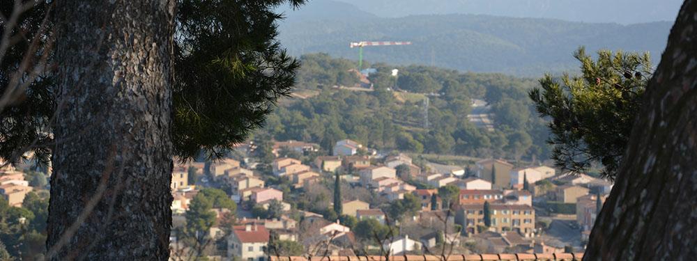 Photo d'une vue de Venelles