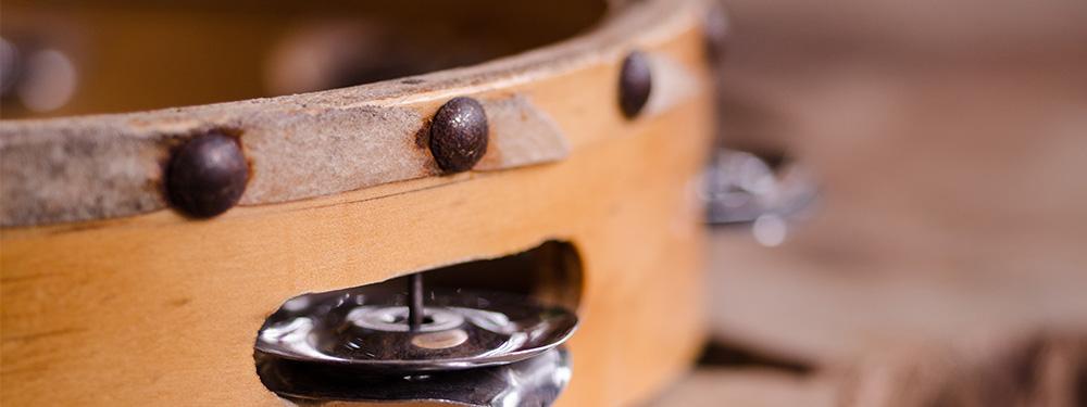 Photo d'un tambourin
