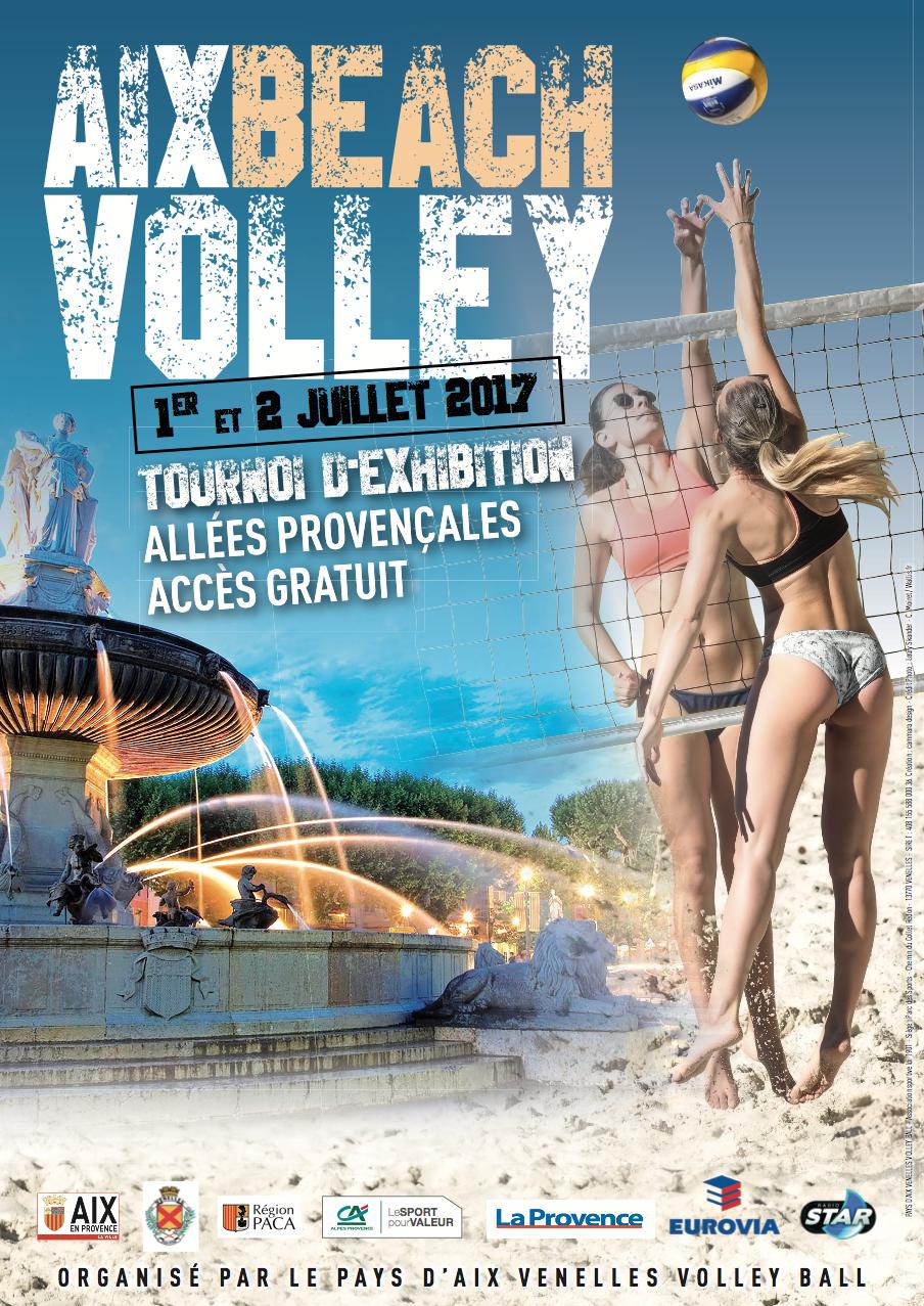 Affiche Beach Volley du PAVVB