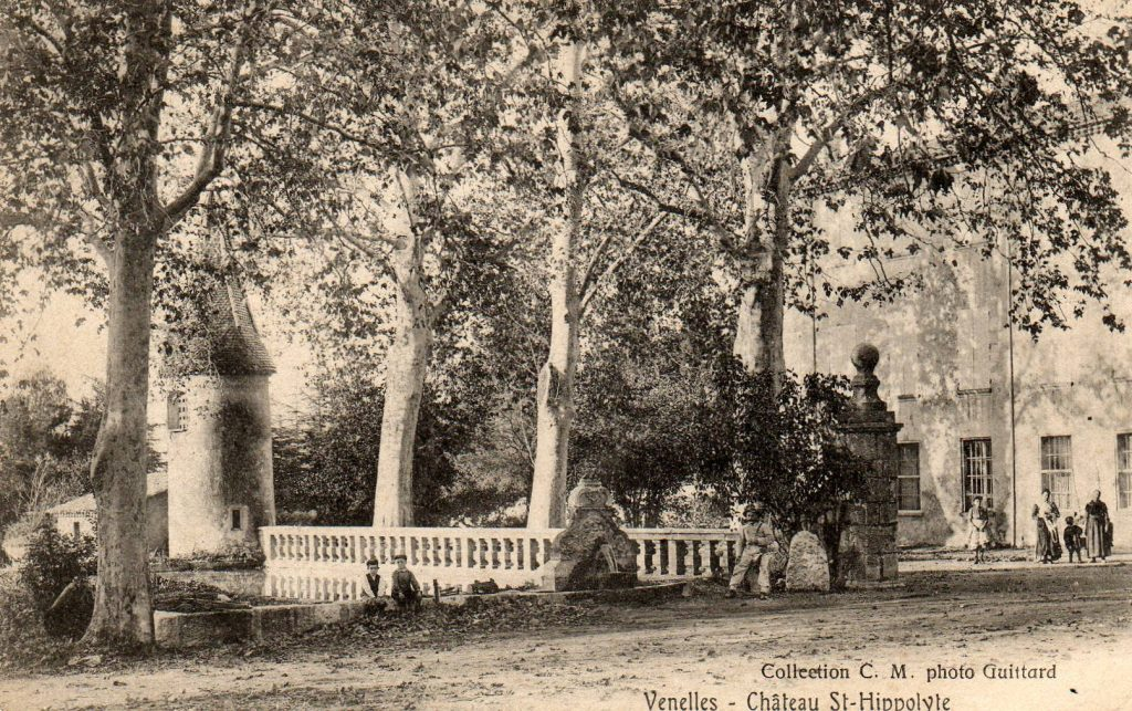 Photo ancienne du Château Saint-Hippolyte