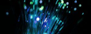 Photo de la fibre optique