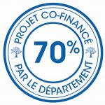 Logo du Conseil Départemental pour le cofinancement à 70%