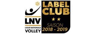 Logo du Label Club de la Ligue nationale de Volley