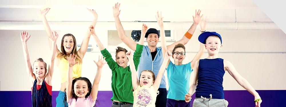 Photo d'enfants ravis de leurs stages Emi Dance