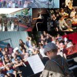 Patchwork de photos du festival l'Entre2 de l'Entrepot