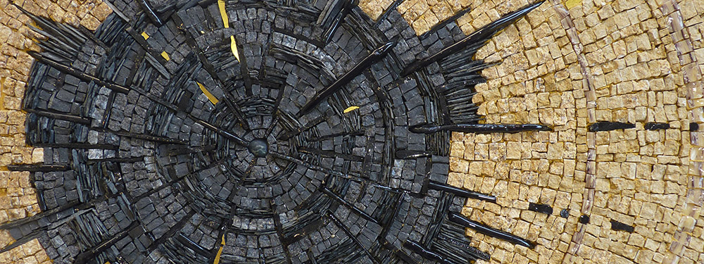 Photo d'une oeuvre de mosaïques réalisé par Catherine Porcher