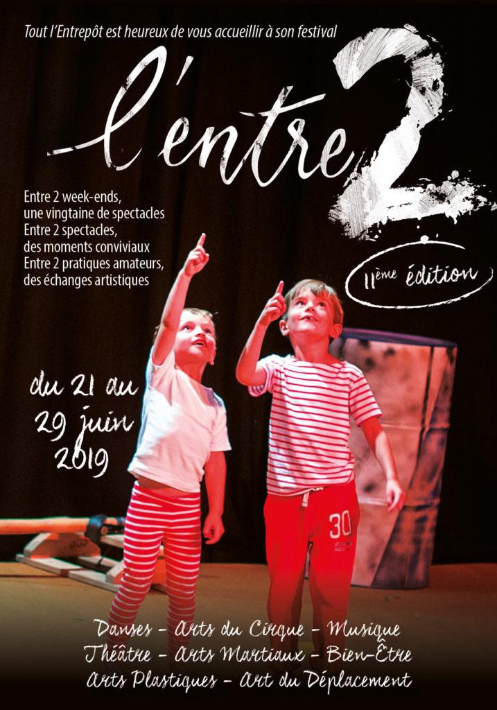 Affiche du festival l'Entre2 de l'Entrepot