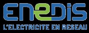 Logo Enedis, l'électricité en réseau
