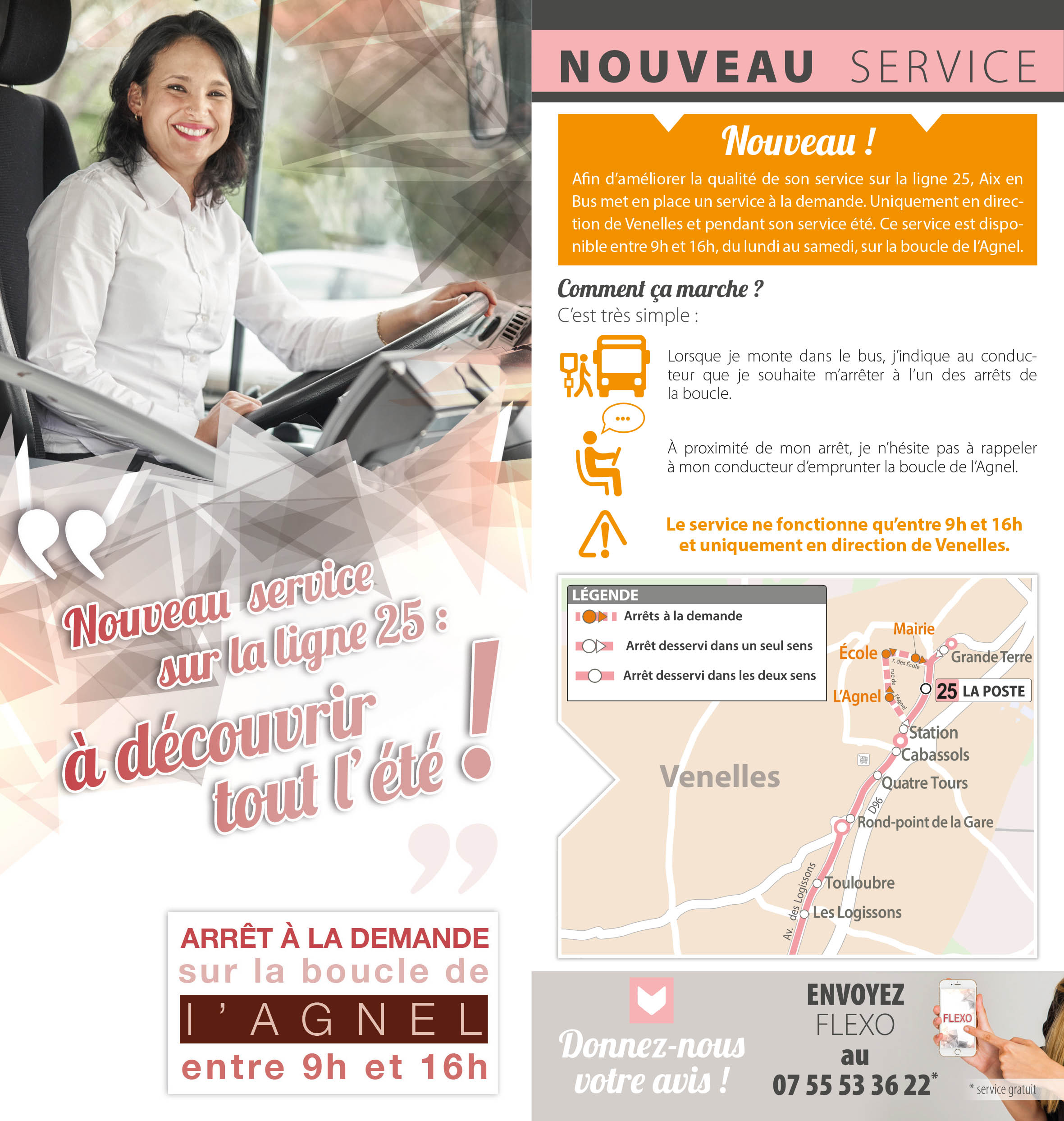 Transports en commun for Ligne 25 salon aix