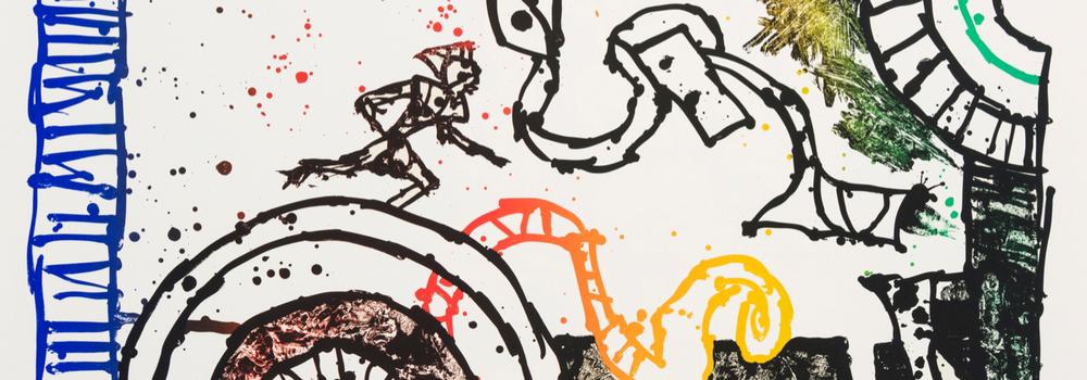 Oeuvre d'art représentant la pièce d'opération Didon et Enee du festival d'art Lyrique d'Aix-en-Provence