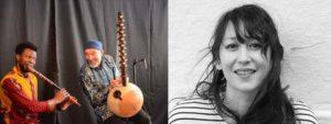Photo de Lapalud et Amélie les crayons, artistes de la chanson française