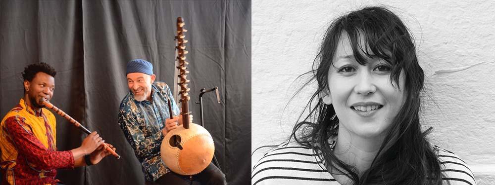 Hervé Lapalud-Dramane Dembelé et Amélie les Crayons en concert à la MJC de Venelles le samedi 2 mars 2019 @ Salle des fêtes de Venelles