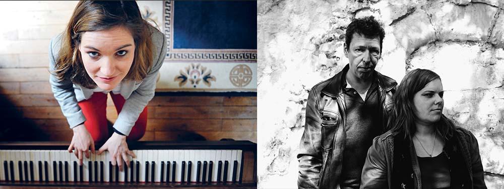 Photo de Vandeu et Melissmell, artistes de la chanson française