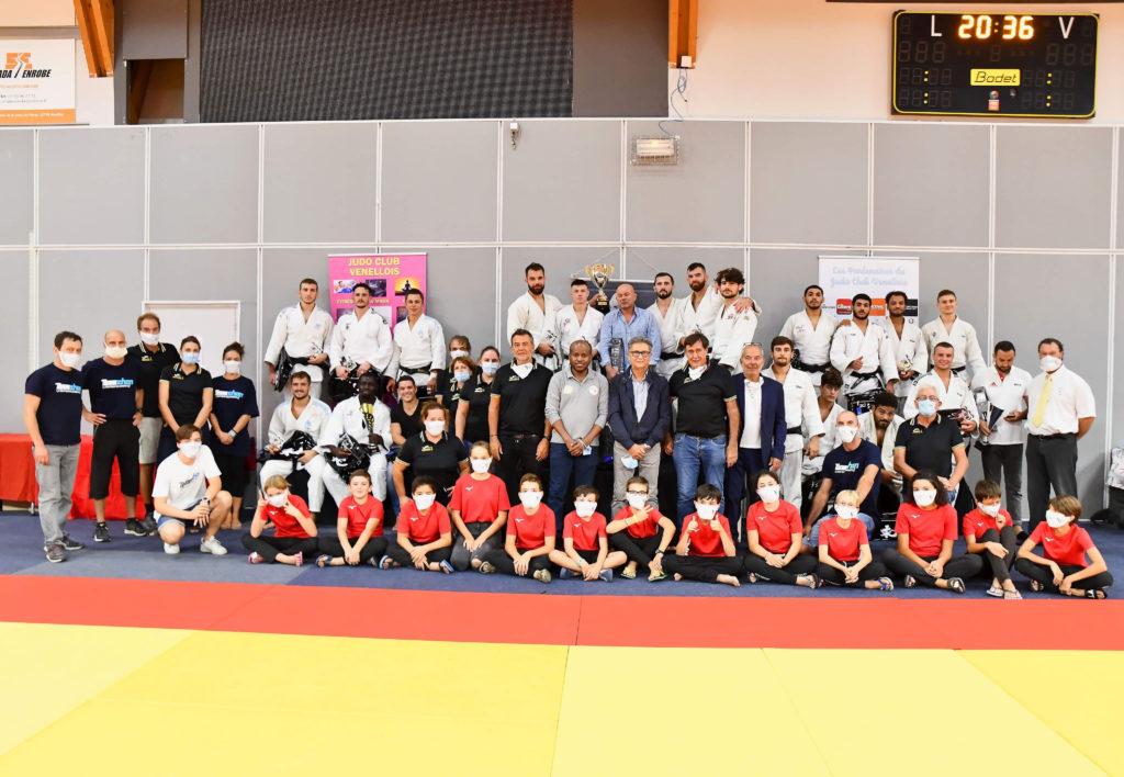 Photo du tournoi international de Judo - Septembre 2020