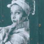 """Photo d'une oeuvre du street nécessaire """"nos désirs font désordre"""""""