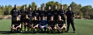 Photo de l'équipe des U19