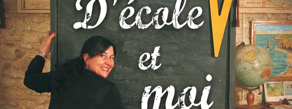 """Photo représentant l'affiche du spectacle """"d'école et moi"""""""