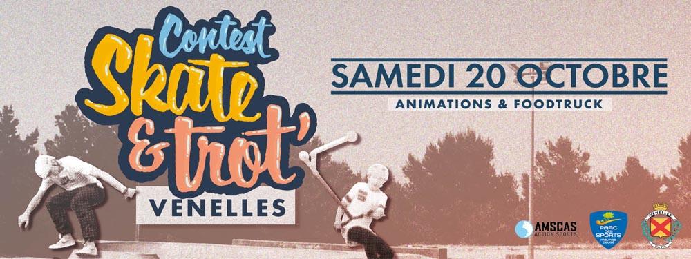 Illustration Contest Skate & Trot' 2018