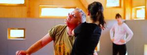 Photo d'un atelier de self-défense