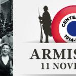 Photo à la libération pour fêter le centenaire de l'armistice du 11 novembre