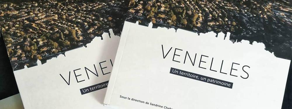 """Photo de la couverture du livre """"Venelles, un territoire, un patrimoine"""""""