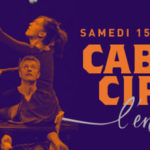 Affiche du Cabaret Cirque de l'entrepôt