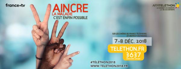 Affiche du Téléthon 2018