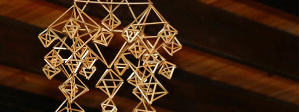 Atelier déco de Noël : himmelis en paille