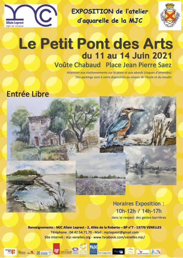 Affiche Petit pont des arts de la MJC