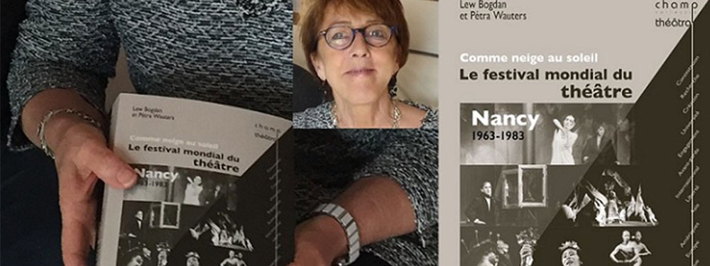 Photo de petrawater présentant son livre Comme neige au soleil, le festival mondial du théâtre