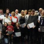 photo des gagnants du concours des crèches, illuminations et sapins de Noël