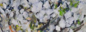 Peinture de l'exposition Le souffle du printemps