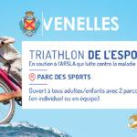 Affiche du triathlon de l'espoir