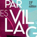 Affiche de lecture en musique par villages