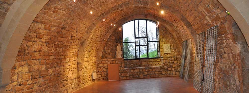 Photo de l'intérieur de la Voûte Chabaud
