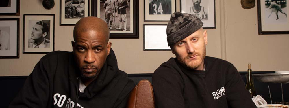 Photo des rappeurs américains Masta Ace & Marco Polo