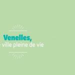 """Illustration indiquant """"Venelles, une ville pleine de vie"""""""
