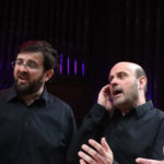 Photo des chanteurs de polyphonies corses du groupe Gargulae Vocis