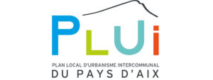 Logo du PLUI : plan local d'urbanisme intercommunal du Pays d'Aix