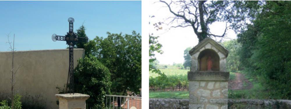 Photo représentation 2 éléments du patrimoine religieux de Venelles