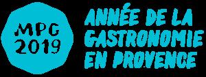 Logo MPG 2019, Année de la gastronomie en Provence