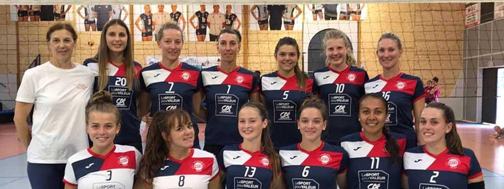 Photo de l'équipe N2 du PAVVB