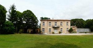 Photo de la façade du Domaine de Violaine
