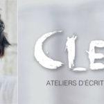 Affiche des ateliers d'écriture Cleary avec la photo de l'artiste