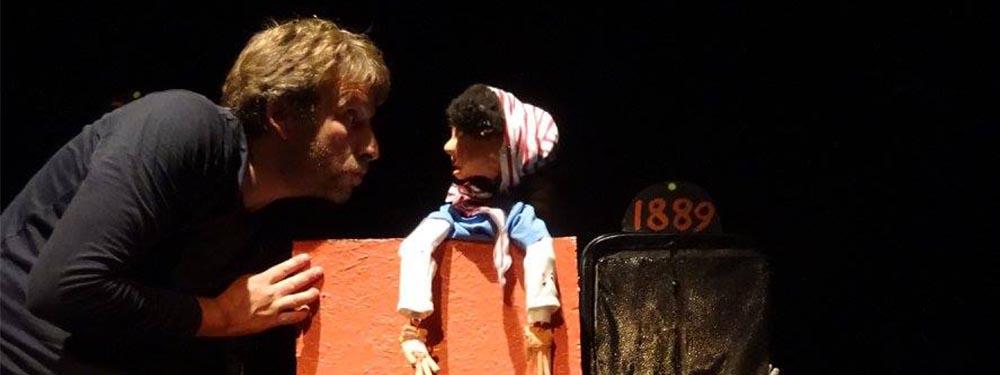 Photo du spectacle de marionnettes de la Compagnie du Schmock