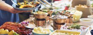 Photo d'un buffet festif
