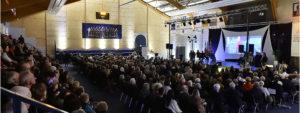 Photo de la salle de la cérémonie des voeux 2020