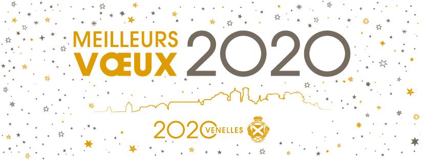 Illustration pour les meilleurs voeux 2020